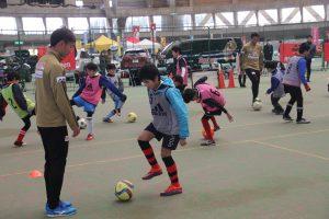 ツエーゲンの選手によるサッカー教室